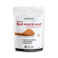 Organic Maca Root Red gelatinised powder 250g