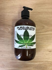 Body Wash Hemp Seed Butter 500ml pump