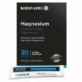 Biosphere Magnesium Supplement 30 sachets (NZ Made)