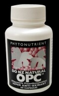 DONZ OPC Natural Anti-Oxidants Caps (NZ made)