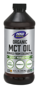 Organic MCT Oil from Coconut Oil 473ml