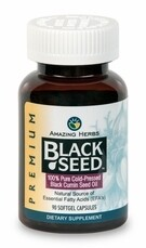 Premium Black Seed Oil Softgel Capsules 90