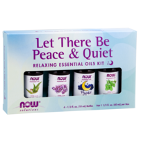 Let There Be Peace & Quiet- Relaxing Essential Oils