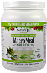 MacroMeal Vegan VanillaProducts  /  Products by Brand  /  Macromeal  /  MacroMeal Vegan Vanilla